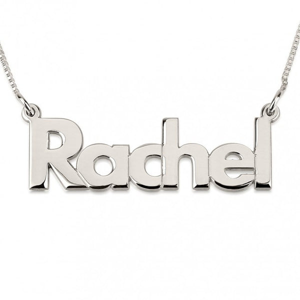 Bold Print Name Necklace - jeweleen - 1