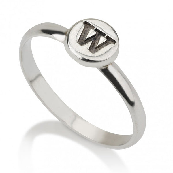 Sterling Silver Circle Midi Ring - jeweleen