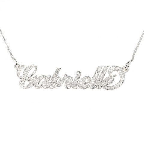 Carrie Sparkling Name Necklace - jeweleen - 1