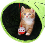 Cat & Kitten Tunnel With Hanging Ball. Your Pet Is Gonna Love This. - jeweleen - 2