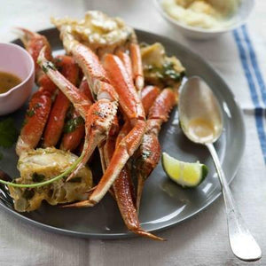Roasted Alaskan Snow Crab