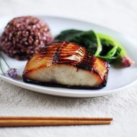 Marinated Black Cod