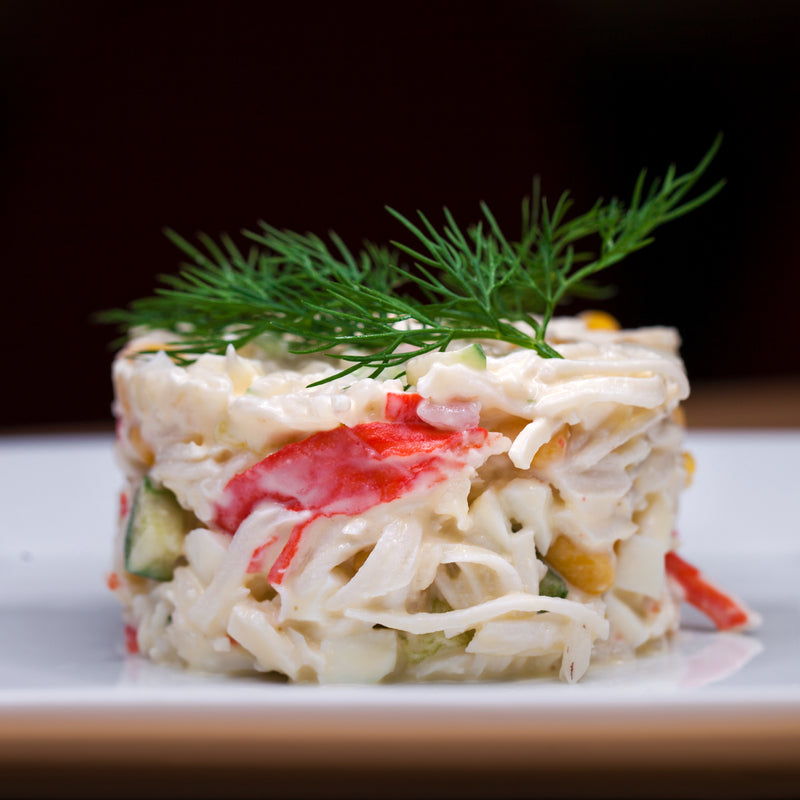 Snow Crab Salad with Avocado  Grapefruit & Citrus-Ginger Vinaigrette