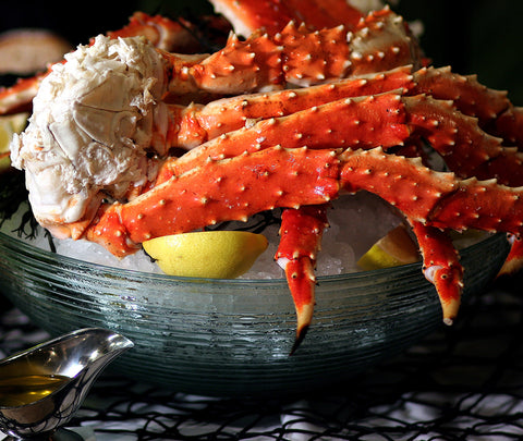 Global Seafoods Alaskan King Crab Legs