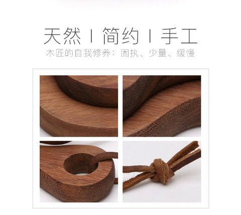 Black Color Walnut Bread Chopping Block