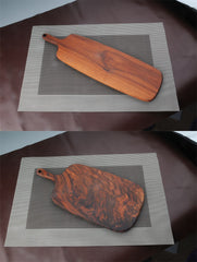 Black walnut wood cutting board kitchen
