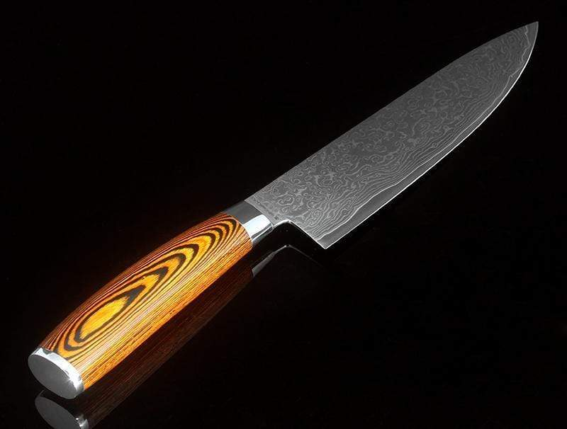 Global Seafoods North America Knife Damascus Kitchen Knife
