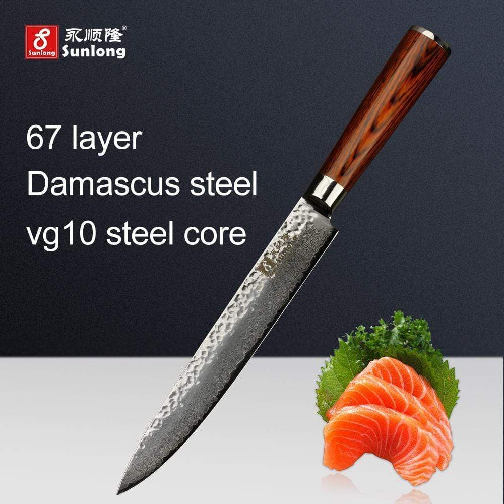 Global Seafoods North America Knife Filleting Knives Fish Filleting Japanese Sashimi Knife