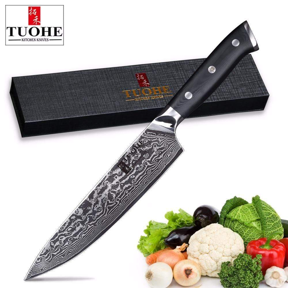 Global Seafoods North America Knife Japanese Chef Knife Ultra Sharp 8 inch Japanese Chef Knife Ultra Sharp