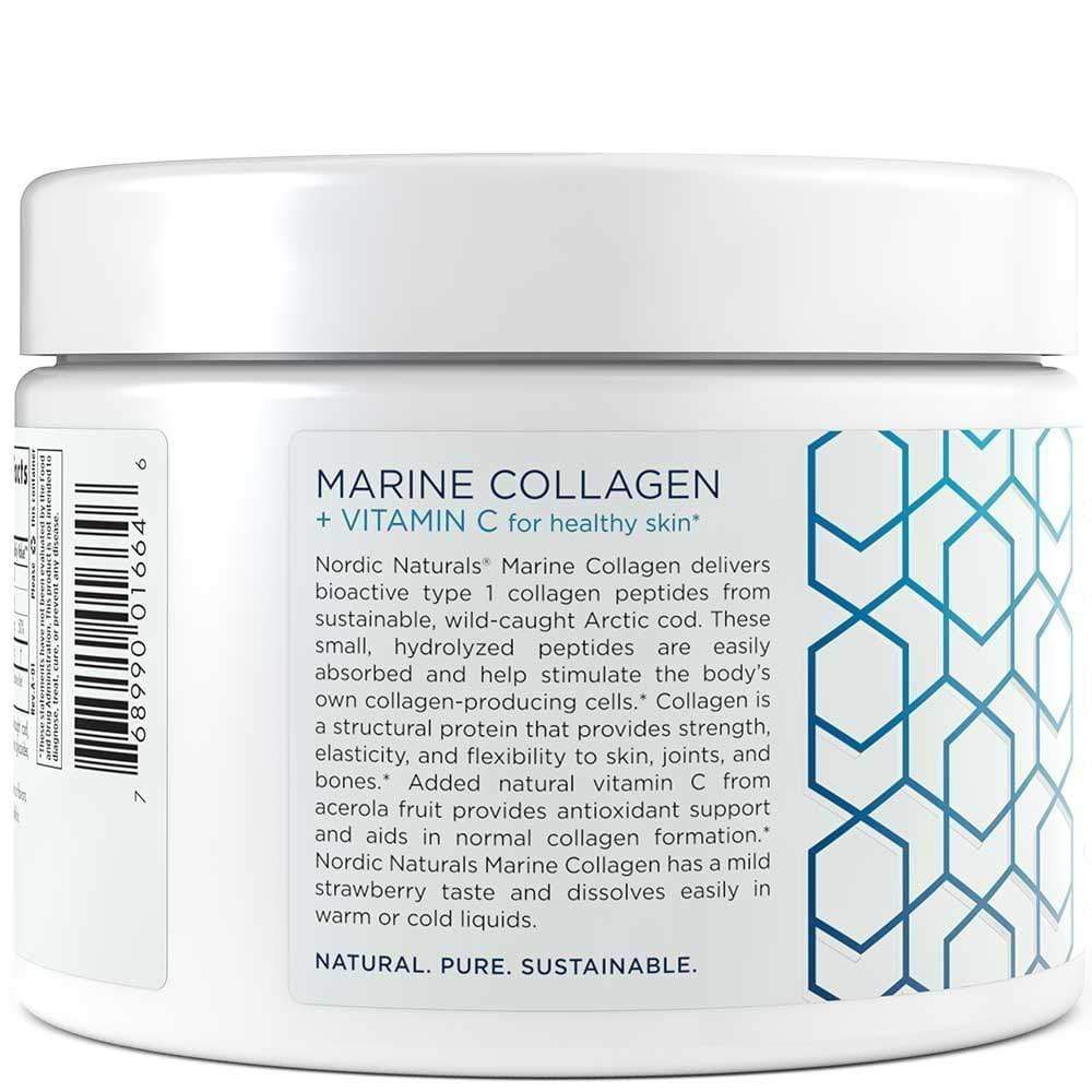 Global Seafoods North America Marine Collagen Marine Collagen Powder Nordic Naturals