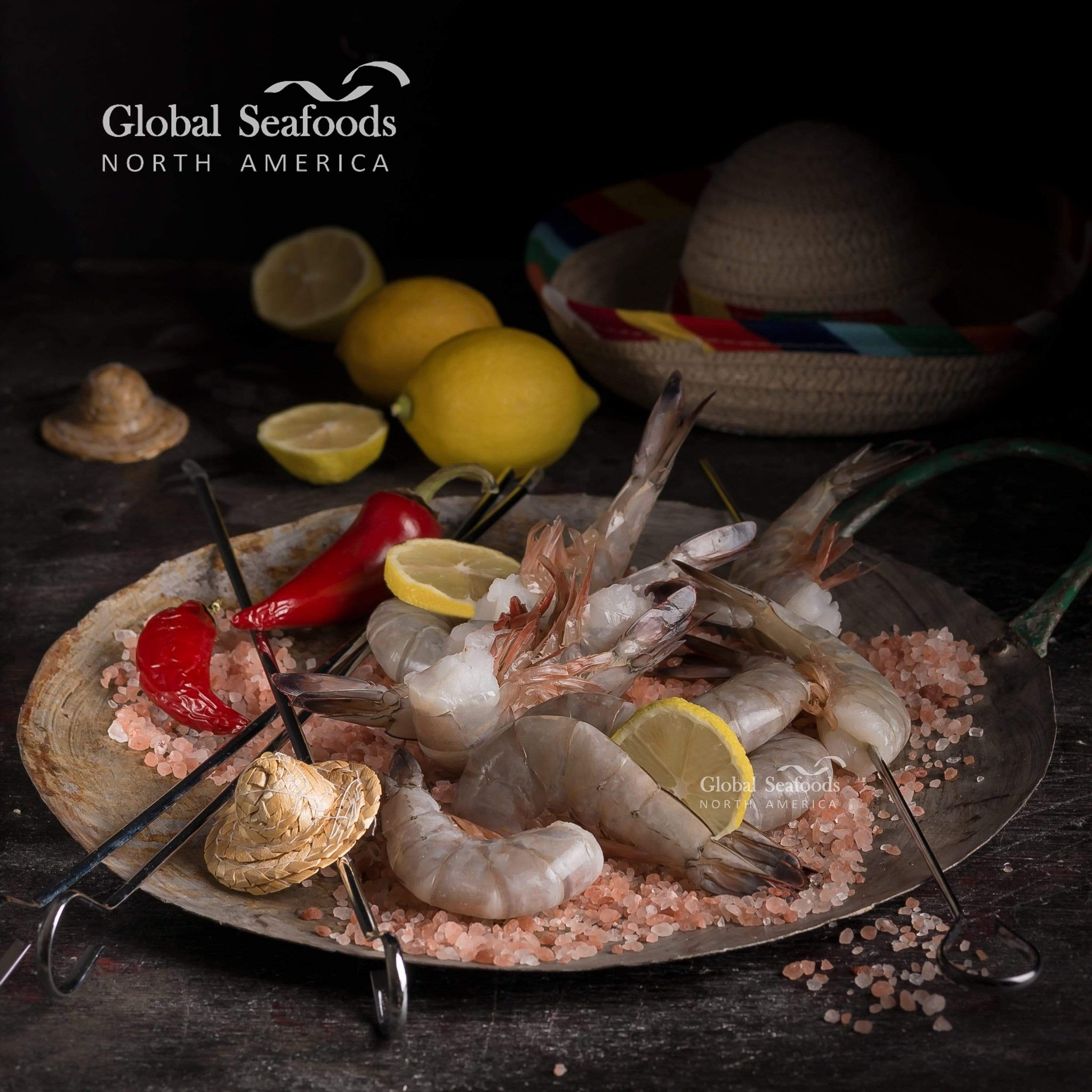 Global Seafoods North America Wild Mexican Jumbo Shrimps