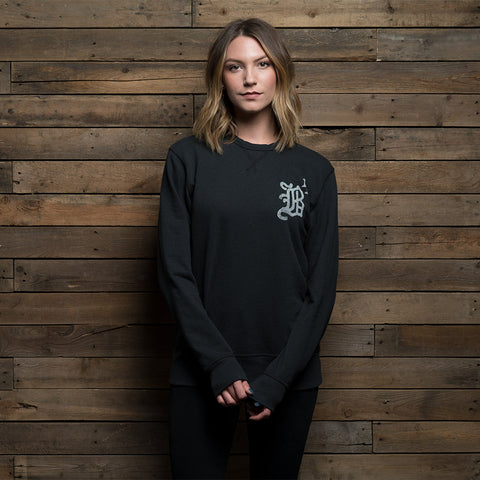Bound By Blood B13 Unisex Black Crewneck Sweatshirt