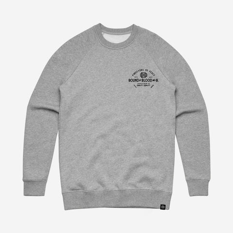 Bound By Blood BBB & Co. Unisex Grey Crewneck Sweatshirt