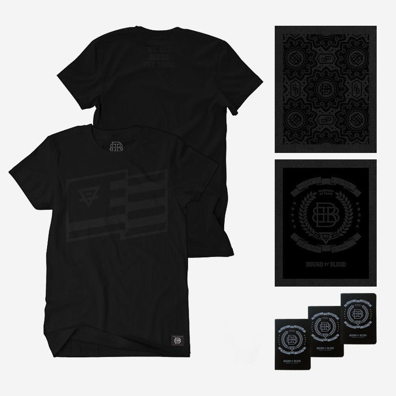 Bound By Blood Limited Edition Black Box T-shirt and Art Print Set
