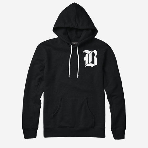 Bound By Blood Blackletter Unisex Pullover Hoodie