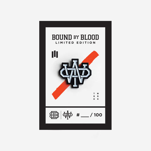 Bound By Blood Warriors of Peace Enamel Pin