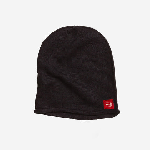 Bound By Blood Monogram Patch Black Unisex Beanie