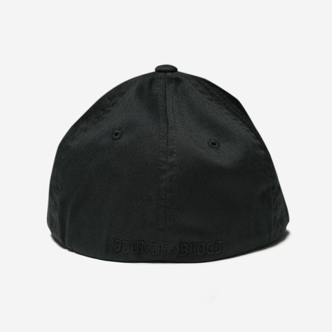 Bound By Blood Monogram Black Unisex Flexfit Hat