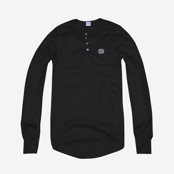 Monogram Thermal Henley