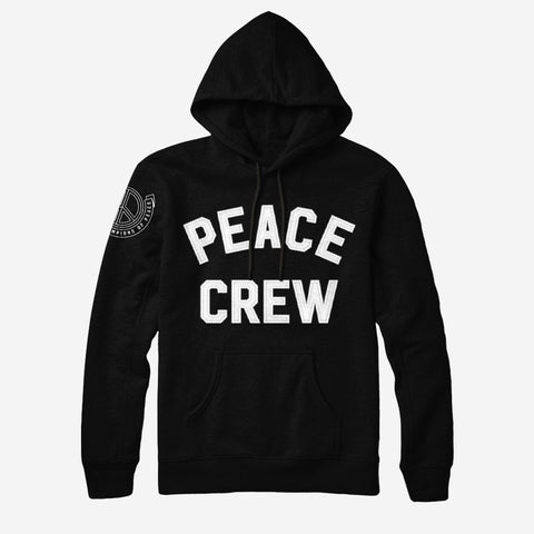 Bound By Blood Peace Crew Black Pullover Hoodie
