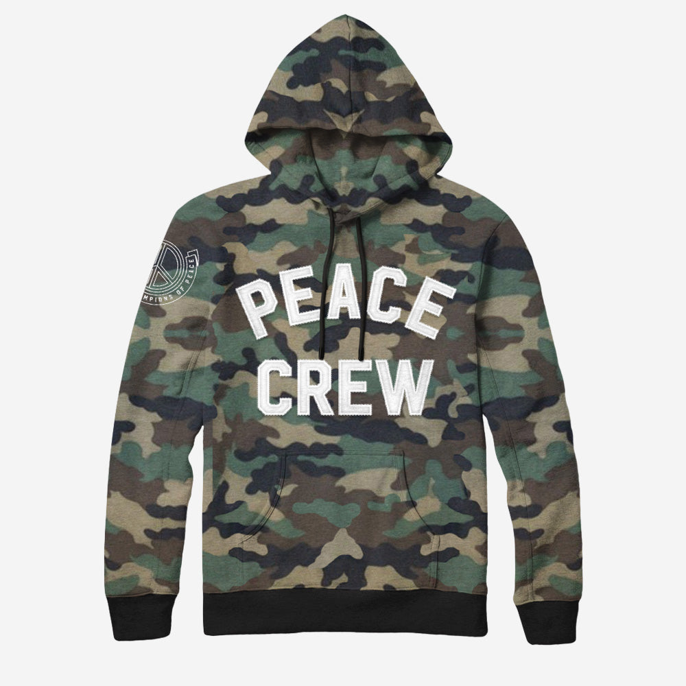 Bound By Blood Peace Crew Camo Limited Edition Pullover Hoodie