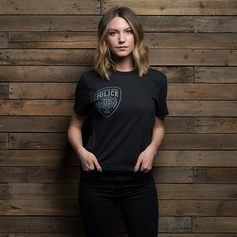 Bound By Blood Peace Police Black Unisex T-Shirt