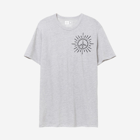 Bound By Blood Peace Rays Grey Unisex T-Shirt