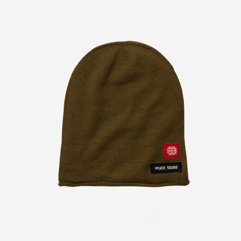 Bound By Blood Peace Squad Olive Unisex Beanie