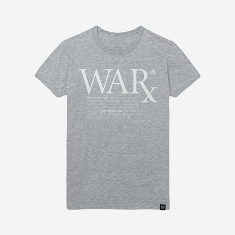 Bound By Blood Prescription WARx Heather Grey Unisex T-Shirt