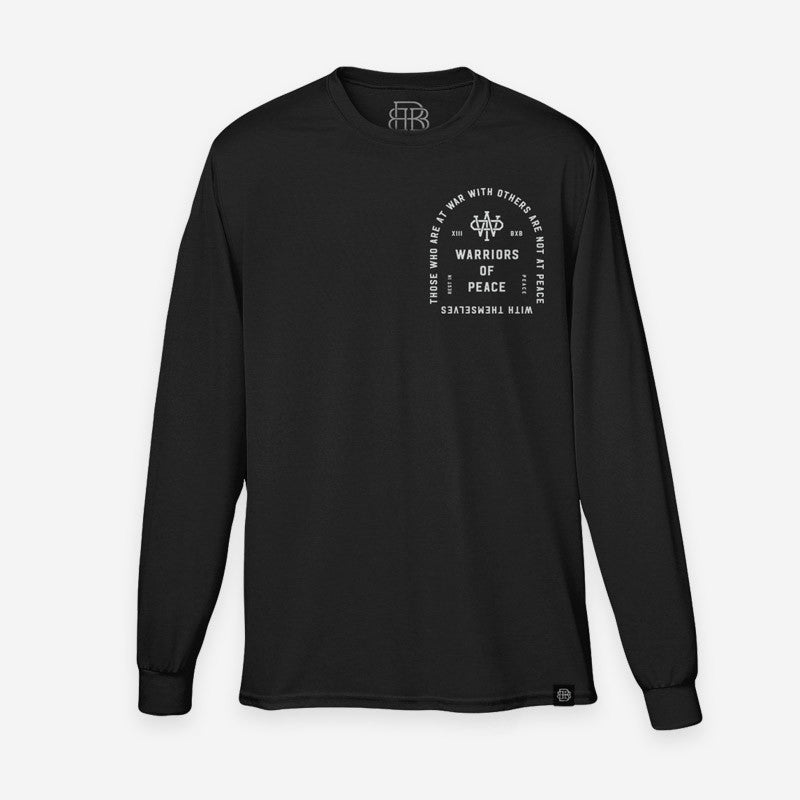 Bound By Blood Rest In Peace Black Unisex Organic Longsleeve T-Shirt