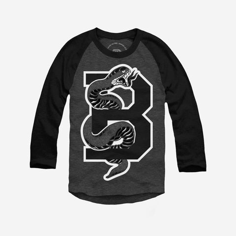 Bound By Blood Serpent 3/4 Sleeve Baseball Shirt