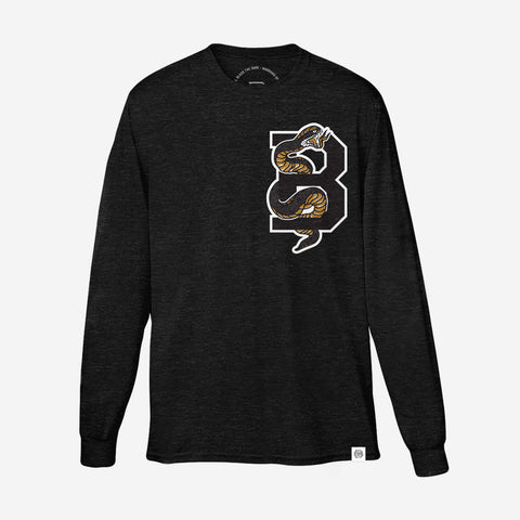 Bound By Blood Serpent Black and Gold Unisex Longsleeve T-Shirt