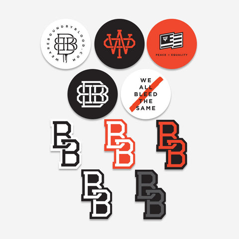 Bound By Blood Die-Cut Sticker Pack