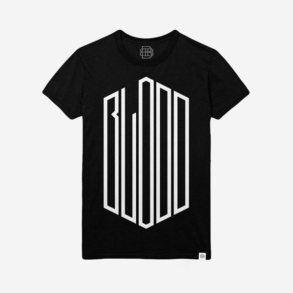 Vertical T-Shirt (Heather Black)