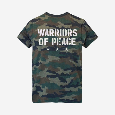 Warriors Army T-Shirt (Camo)