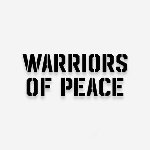 Bound By Blood Warriors of Peace Vinyl Decal