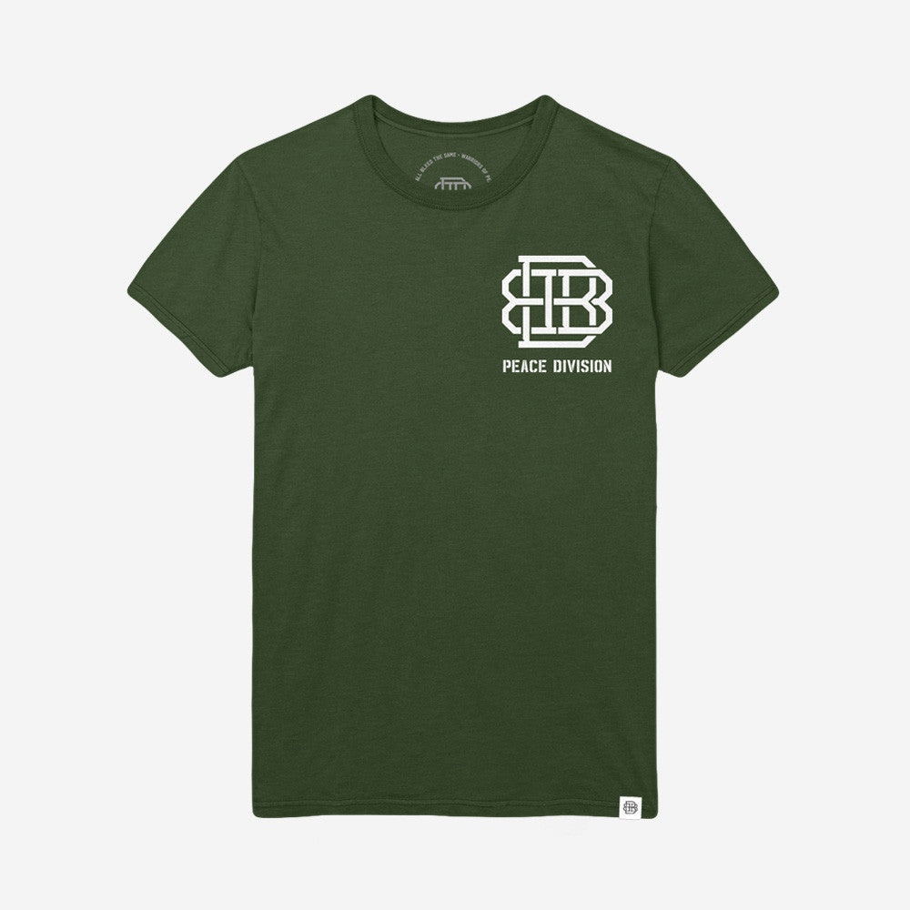 Bound By Blood Warriors Army Green Unisex T-Shirt