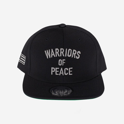 Bound By Blood Warriors of Peace Black & Grey Flatbrim Snapback Hat