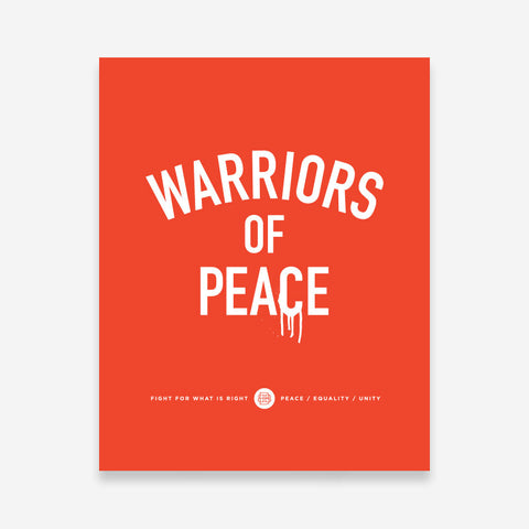 Bound By Blood Warriors of Peace 8x10 Art Print