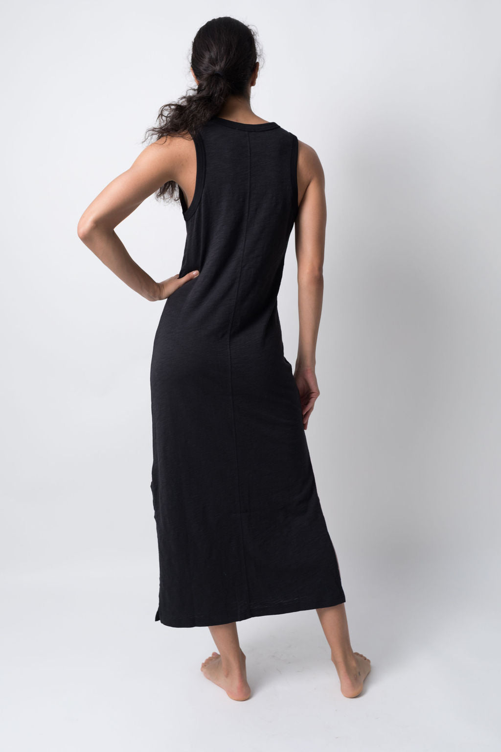 THE SIDE SLIT DRESS