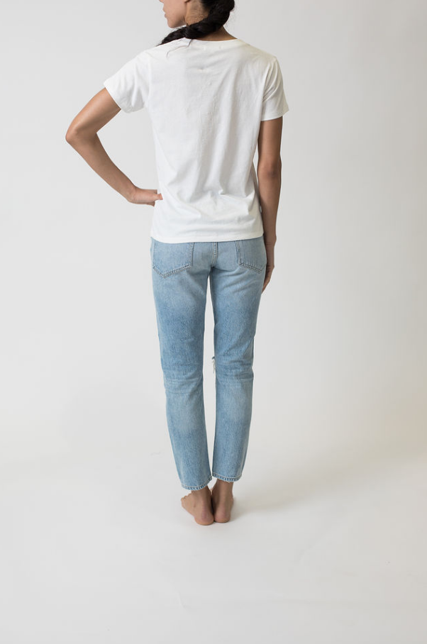 THE CHLOE TEE NO DISTRESSING