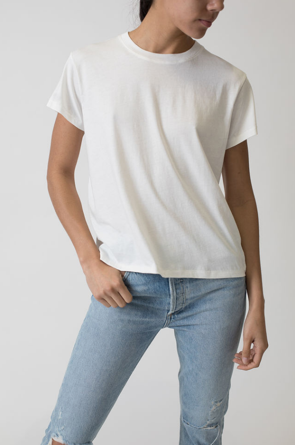 CHLOE TEE NO DISTRESSING