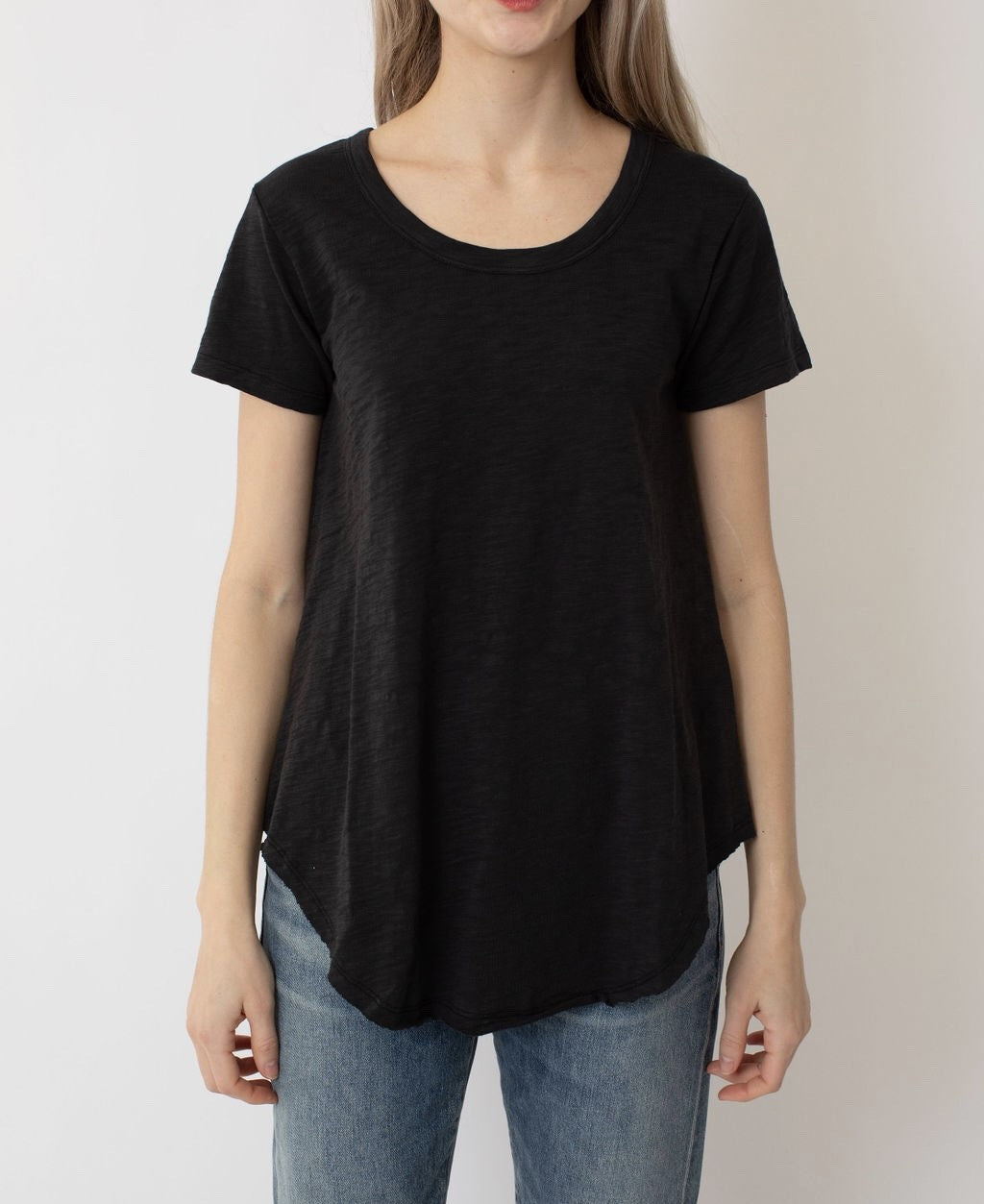 THE ABBY SOLID TEE