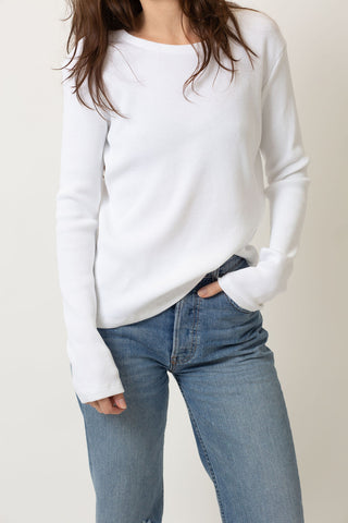 THE CHLOE LONG SLEEVE WITH EMBROIDERED HEART