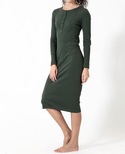 THE ALI RIBBED DRESS