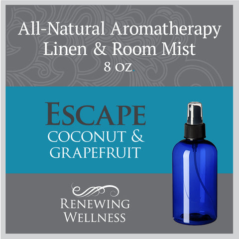 Renewing Wellness Aromatherapy Room Mist Coconut Grapefruit