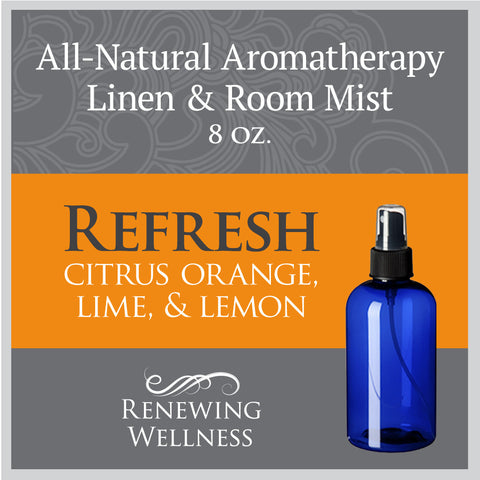 Renewing Wellness Aromatherapy Room Mist Refreshing Citrus