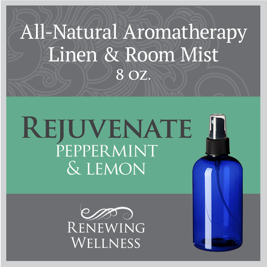 Renewing Wellness Aromatherapy Room Mist Peppermint Lemon