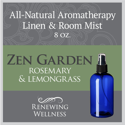 Renewing Wellness Aromatherapy Room Mist Rosemary Lemongrass