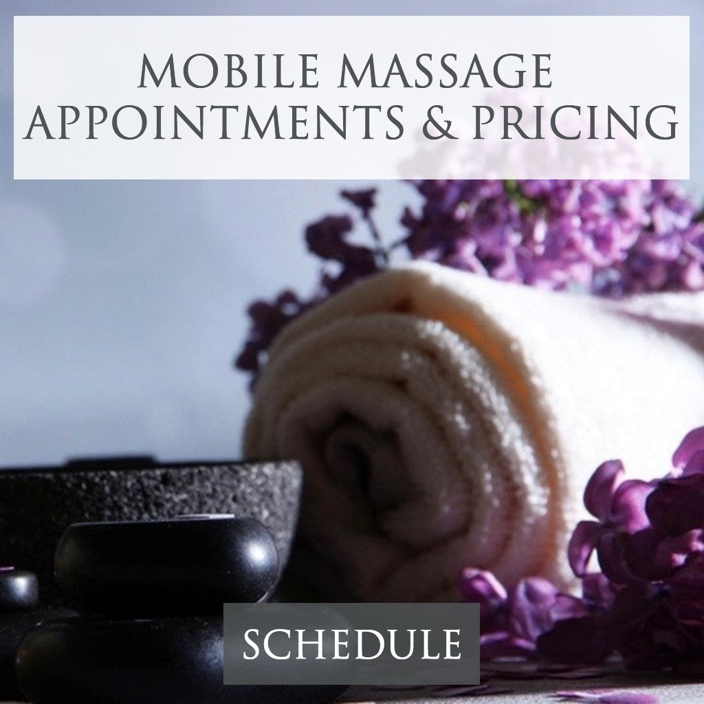 Mobile Massage Appointment Scheduling in Dallas, TX Metroplex